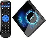 Android 10.0 TV Box, Allwinner H616 Quad-Core 2GB RAM 16GB ROM Mali-G31 MP2 GPU 6K 3D BT5.0 2.4/5.0GHz Dual WiFi Ethernet DLNA HDMI Smart TV Box