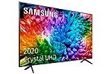 Samsung UHD 2020 43TU7105- Smart TV de 43', 4K, HDR 10+, Crystal Display, Procesador 4K, PurColor, Sonido Inteligente, Función One Remote Control y Compatible Asistentes de Voz, Compatible con Alexa