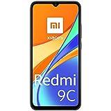Xiaomi Redmi 9C Smartphone 3GB 64GB 6.53' HD+ Dot Drop display 5000mAh (typ) Desbloqueo facial con IA 13 MP AI Triple Cámara gris