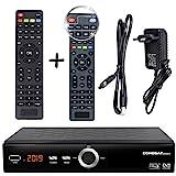 hd-line Echosat 20900 Pro Receptor Digital por satélite + Control Remoto Inteligente (HDTV, DVB-S / S2, HDMI, SCART, 2X USB 2.0, Full HD 1080p) [preprogramado para Astra Hotbird Türksat]
