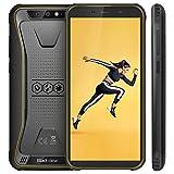 【Blackview Oficial】 BV5500 (2020) Móvil Libre Resistente IP68 Impermeable Robusto de 5.5' (13.9cm, 18:9), 2GB/16GB, Android 8.1, Doble Cámara 8MP+5MP, 4400mAh Batería SIM Doble Smartphone- Amarillo